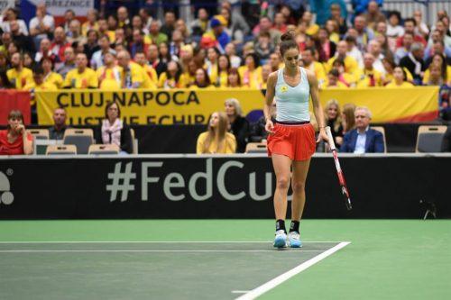 Ponturi Mihaela Buzarnescu-Martina Trevisan tenis 16-aprilie-2021 Fed Cup
