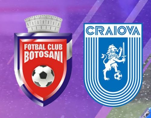 Ponturi FC Botosani vs Universitatea Craiova fotbal 21 aprilie 2021 Liga 1