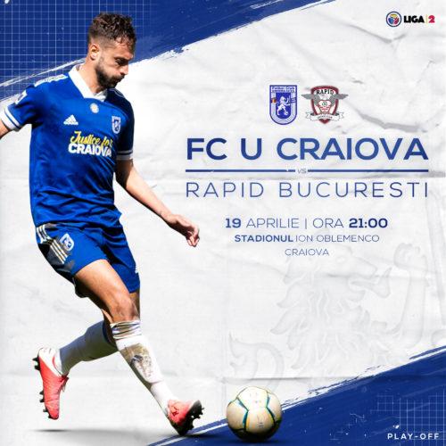 Ponturi FC Universitatea Craiova vs Rapid Bucuresti fotbal 19-aprilie-2021 Romania Liga2
