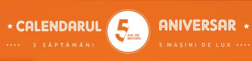 Calendarul aniversar BETANO! 5 saptamani de oferte si promotii! ASTAZI: 25 RON free-bet si 25 de rotiri gratuite!