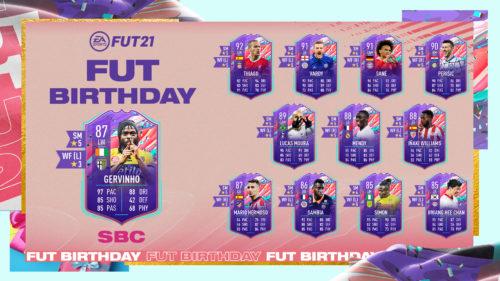 EA adaugă un nou SBC cu ocazia evenimentului FUT Birthday!