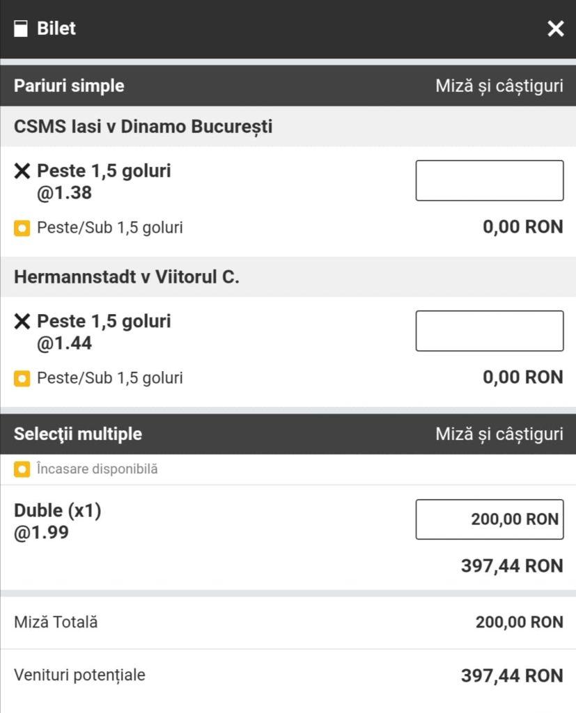 Biletul zilei fotbal Alyn – Miercuri 05 Mai 2021 – Cota 1.99 – Castig potential 397 RON