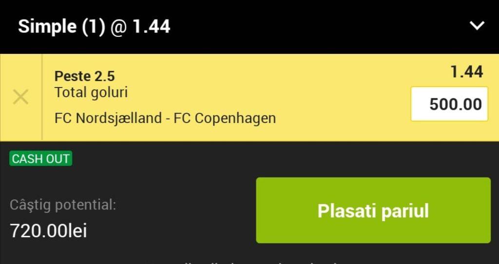 Cota zilei fotbal ERC – Luni 10 Mai 2021 – Cota 1.44 – Castig potential 720 RON
