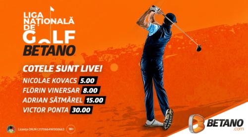 Cote speciale pentru Liga Nationala de Golf – Betano