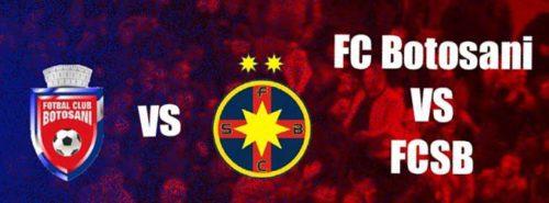Ponturi Botosani-FCSB 06-mai-2021 Liga 1