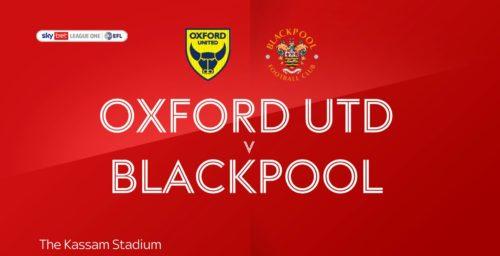 Ponturi Oxford-Blackpool 18-mai-2021 League One
