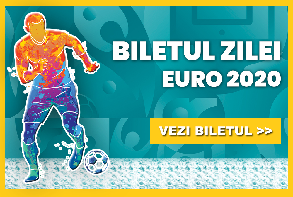 Biletul zilei fotbal EURO 2020 – Vineri 11 Iunie 2021 – Cota 1.90 – Castig potential 286 RON