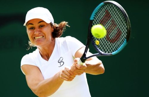 Ponturi Kristie Ahn-Monica Niculescu tenis 25-iunie-2021 WTA Wimbledon (Calificari)