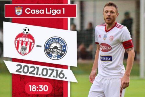 Ponturi Sepsi Sf Gheorghe vs Academica Clinceni fotbal 16 iulie 2021 Liga 1