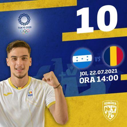 Ponturi Honduras vs Romania fotbal 22 iulie 2021 Jocurile Olimpice