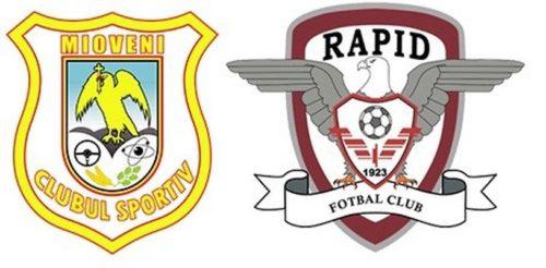 Ponturi CS Mioveni vs Rapid fotbal 23 iulie 2021 Liga 1
