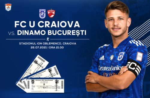 Ponturi FCU Craiova vs Dinamo Bucuresti fotbal 26 iulie Liga 1