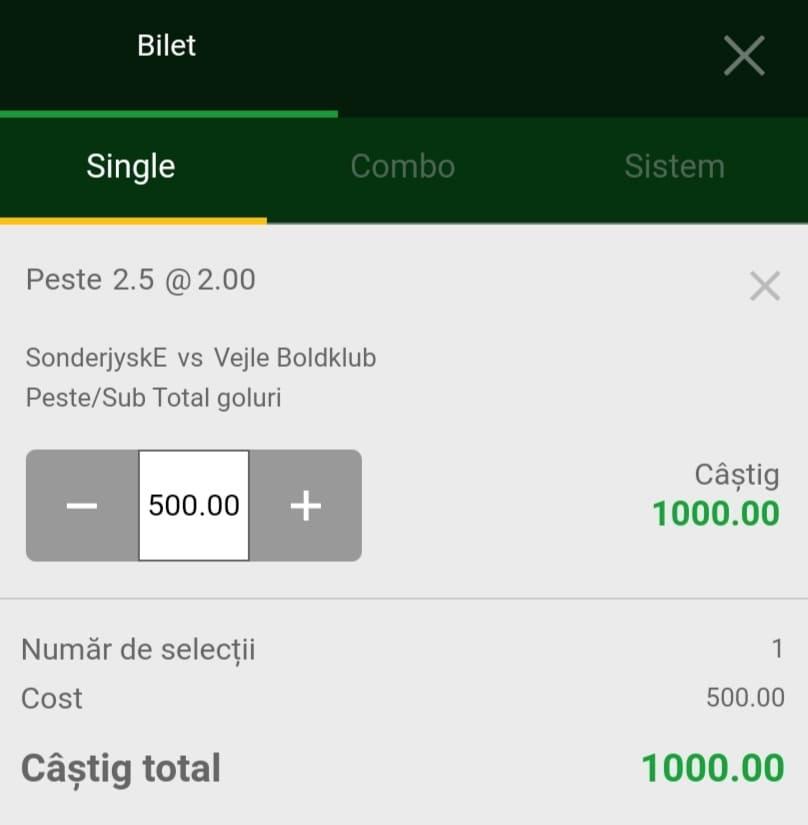 Cota zilei fotbal ERC – Luni 26 Iulie 2021 – Cota 2.00 – Castig potential 1000 RON