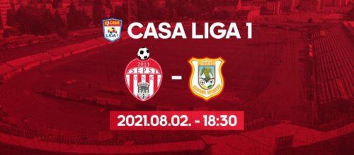 Ponturi Sepsi Sf Gheorghe vs CS Mioveni fotbal 2 august 2021 Liga 1