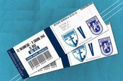 Ponturi Voluntari vs U Craiova 1948 fotbal 31 iulie 2021 Liga 1
