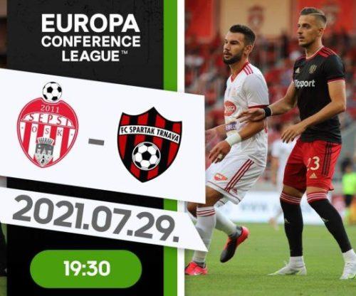 Ponturi Sepsi Sf Gheorghe vs Spartak Trnava fotbal 29 iulie 2021 Conference League