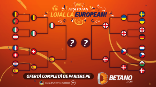Descoperă EuroPariurile de pe Betano! Minim 50.000 de lei Cash pentru Finala Europeanului cu Betano Master