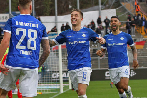 Ponturi SV Darmstadt 98-SSV Jahn Regensburg fotbal 24-iulie-2021 2. Bundesliga