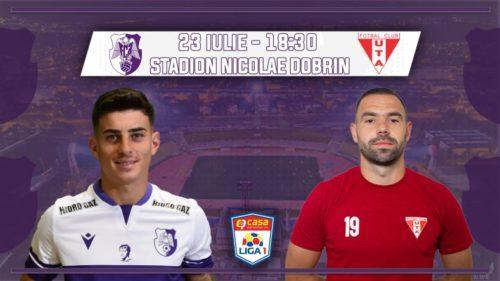 Ponturi FC Arges vs UTA fotbal 23 iulie 2021 Liga 1
