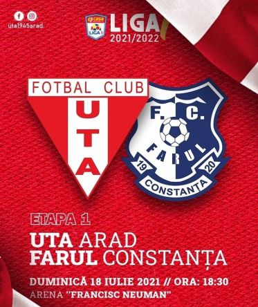 Ponturi UTA vs Farul fotbal 18 iulie 2021 Liga 1