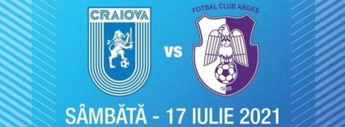 Ponturi Universitatea Craiova vs FC Arges fotbal 17 iulie 2021 Liga 1