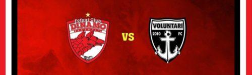 Ponturi Dinamo vs Voluntari fotbal 19 iulie 2021 Liga 1