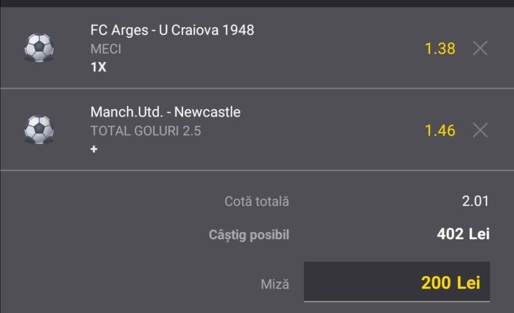 Biletul zilei fotbal Alyn – Sambata 11 Septembrie 2021 – Cota 2.01 – Castig potential 402 RON