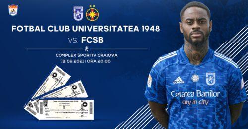 Ponturi FCU Craiova vs FCSB fotbal 18 Septembrie 2021 Liga1