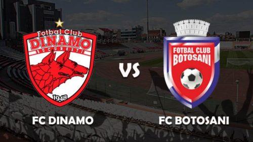 Ponturi Dinamo vs Botosani fotbal 19 septembrie 2021 Liga 1