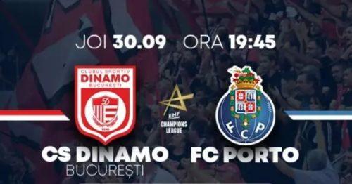 Ponturi handbal Dinamo-Porto 30-septembrie-2021 Champions League