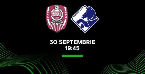 Ponturi CFR Cluj-Randers 30-septembrie-2021 Europa Conference League