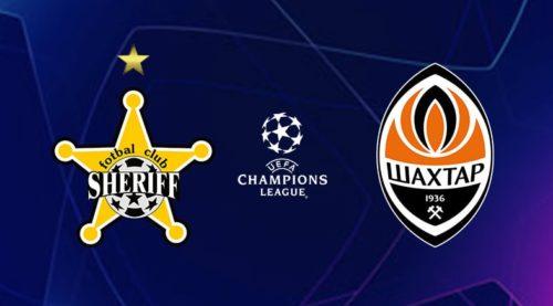 Ponturi Sheriff Tiraspol-Sahtior 15-septembrie-2021 Champions League