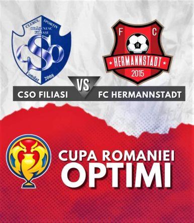 Ponturi CSO Filiasi vs Hermannstadt fotbal 26 octombrie 2021 Cupa Romaniei