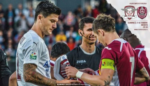 Ponturi Rapid vs CFR Cluj fotbal 17 octombrie 2021 Liga 1