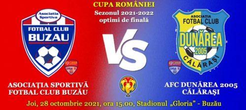 Ponturi FC Buzau vs Dunarea Calarasi fotbal 28 octombrie 2021 Cupa Romaniei