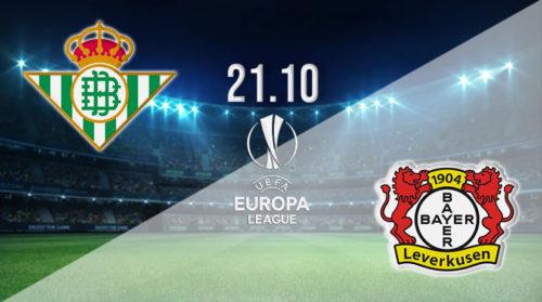 Ponturi Betis-Leverkusen 21-octombrie-2021 Europa League