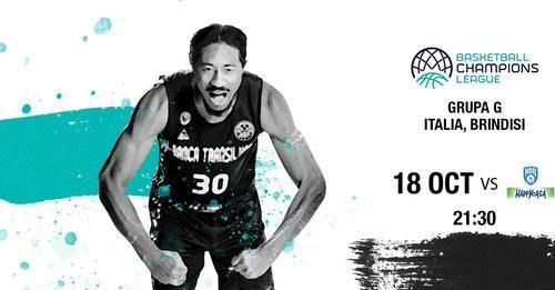 Ponturi baschet Brindisi-U Cluj Napoca 18-octombrie-2021 Champions League