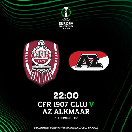 Ponturi CFR Cluj vs AZ Alkmaar fotbal 21 octombrie 2021 Conference League