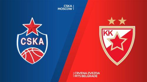 Ponturi CSKA Moscova vs Crvena Zvezda baschet 15 octombrie 2021 Euroliga