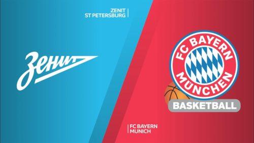 Ponturi Zenit vs Bayern baschet 14 octombrie 2021 Euroliga