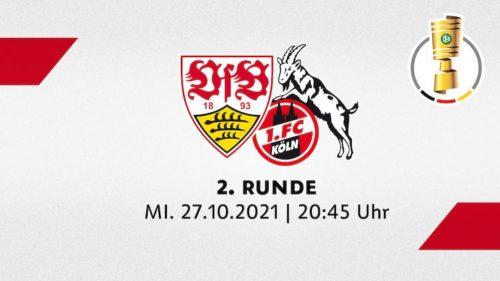 Ponturi Stuttgart-Koln 27-octombrie-2021 DFB Pokal