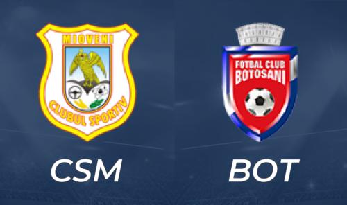 Ponturi CS Mioveni vs FC Botosani fotbal 23 octombrie 2021 Liga 1