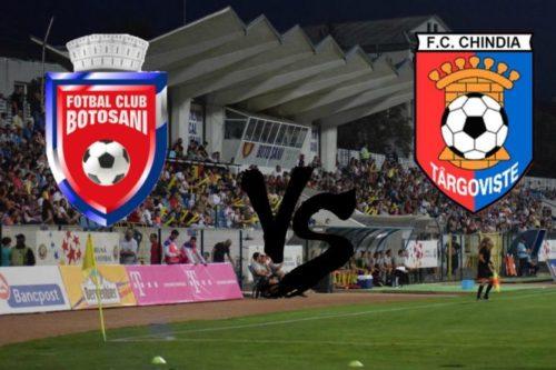 Ponturi Botosani vs Chindia fotbal 18 octombrie 2021 Liga 1