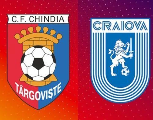 Ponturi Chindia vs Universitatea Craiova fotbal 22 octombrie 2021 Liga 1